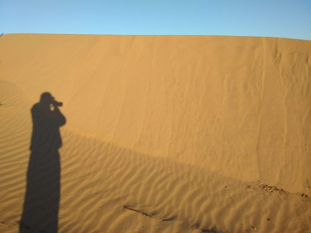 Beautiful Mexico sand dunes IV